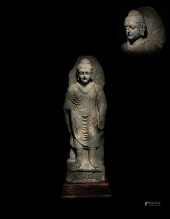 2-3世紀石雕犍陀羅像