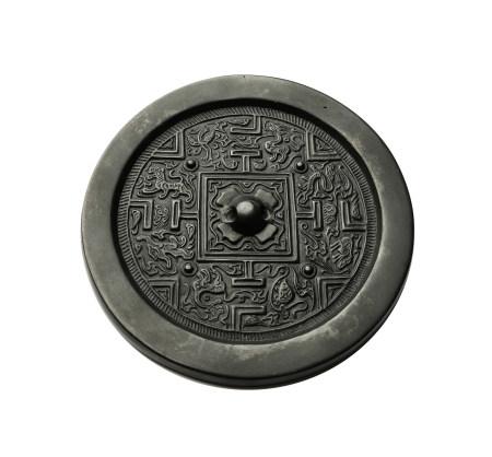 漢 黑漆古博局鏡