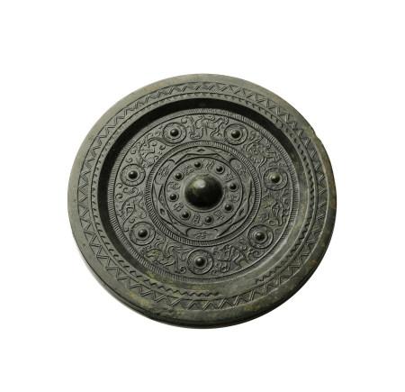 漢 瑞獸銘文鏡