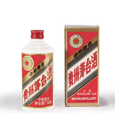 1987年五星貴州茅臺酒