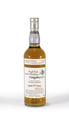 1991年麥卡倫裝瓶17年單一麥芽威士忌