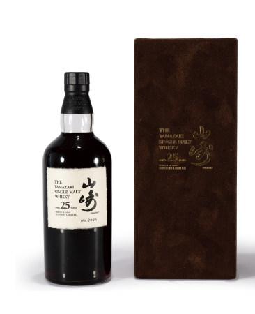90年代山崎25年小編號單一麥芽雪莉桶威士忌