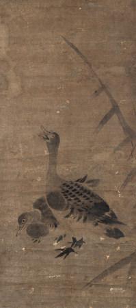 佚名 蘆鴨