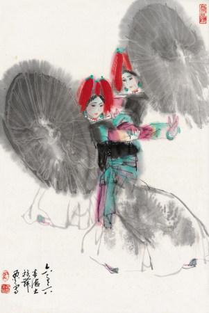 1966年作 馬西光 雙美