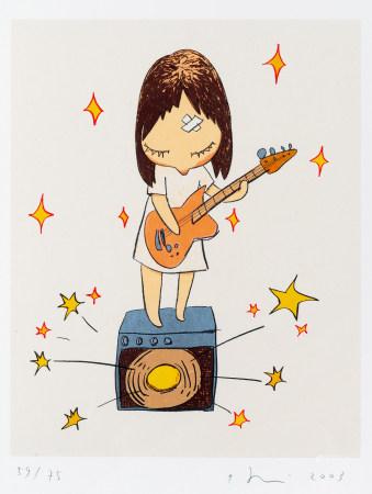 2003年作 奈良美智 吉他女孩