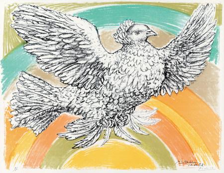 1952年作 畢加索 和平鴿