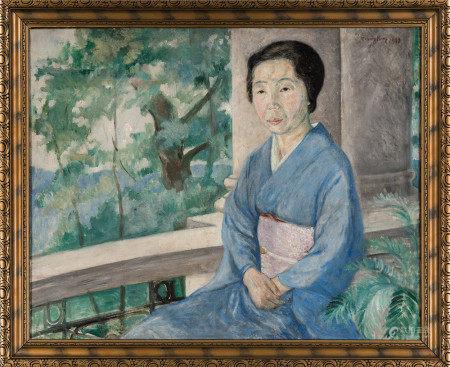陳宏 須磨彌吉郎夫人肖像