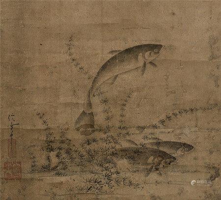 佚名(元) 魚藻圖