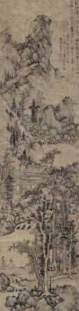 1648年作 藍瑛 山水