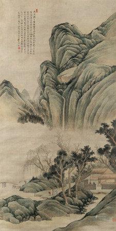 1735年作 沈敦善(清) 山水