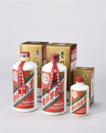 貴州茅臺酒三瓶