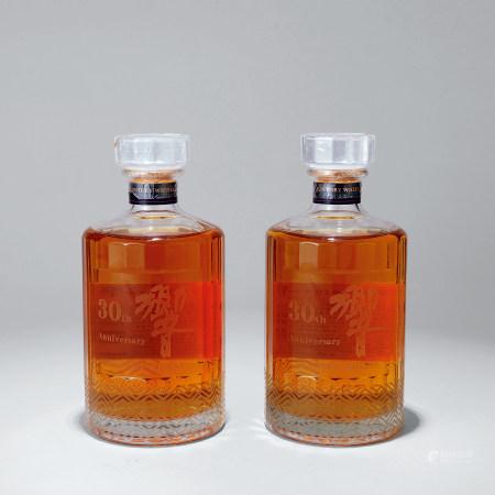 30年響威士忌二瓶