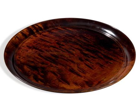 川北良造 大漆圓盤