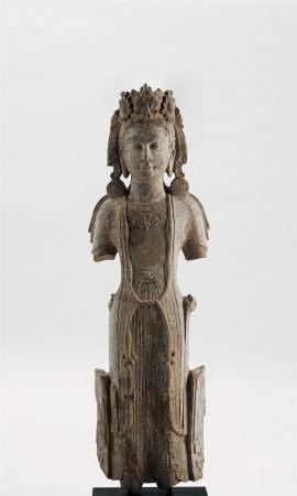 北齊 石雕菩薩立像