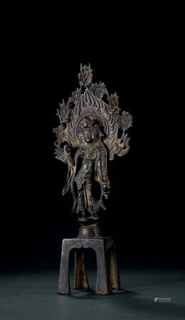 東魏 銅製菩薩立像