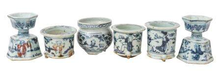 Assembled Chinese Canton Vessels