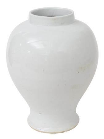 Large Chinese Baluster Stoneware Vase