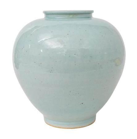 Chinese Celadon Baluster Vase