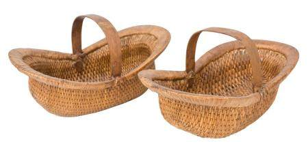 Chinese Hand Woven Harvest Baskets