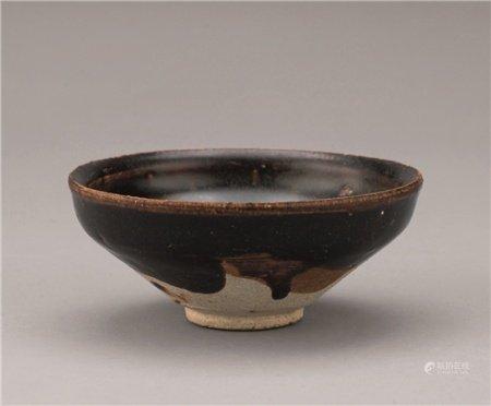 宋代(960-1279) 黑釉小茶碗