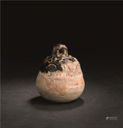 宋代(960-1279) 黑釉铃铛