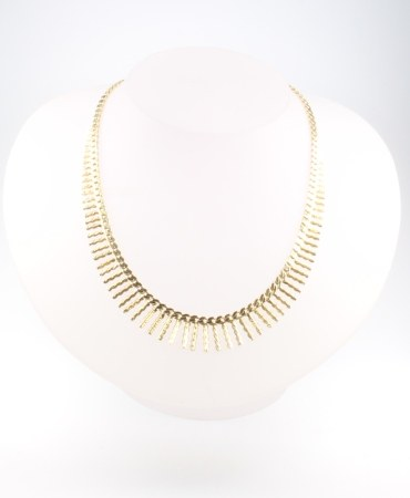 A 9ct yellow gold necklace 23.1 grams