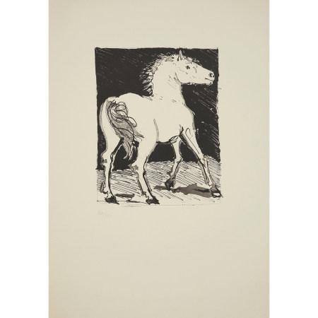 ¤ PABLO PICASSO (1881-1973)  LE CHEVAL (HISTOIRE NATURELLE, BUFFON), 1