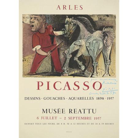 D'APRÈS PABLO PICASSO  PICASSO, DESSINS-GOUACHES-AQUARELLES, 1898-1957