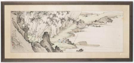 CHEN SHAOMEI (1909 – 1954) A LANDSCAPE IN SUNG STYLE