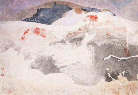 YANG YANPING (B. 1934) SAND DUNES II