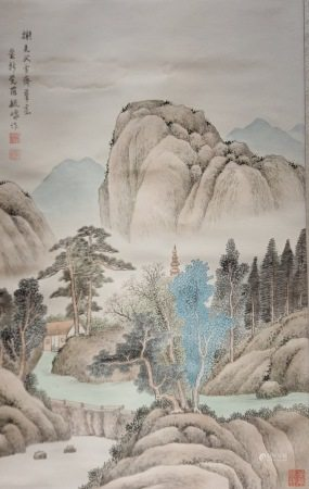 Chinese Painting and Calligraphy of Landscape 中国书画 山水