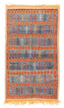"Moroccan Rug, 4'8"" x 8'"