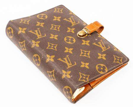 Louis Vuitton Canvas & Leather Address Book Cover
