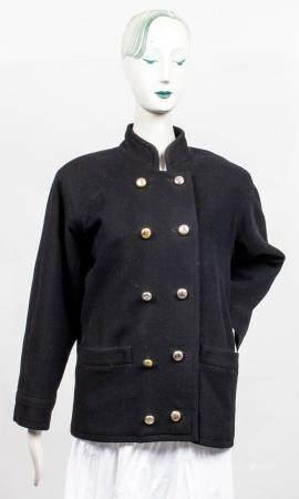 Yves Saint Laurent Rive Gauche Women's Wool Jacket