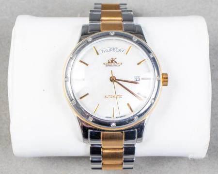 Adee Kaye Beverly Hills MOP & Two-Tone Watch