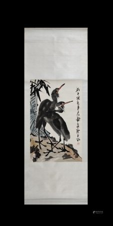 Li Kuchan Inscription, Vertical-HangingPainting