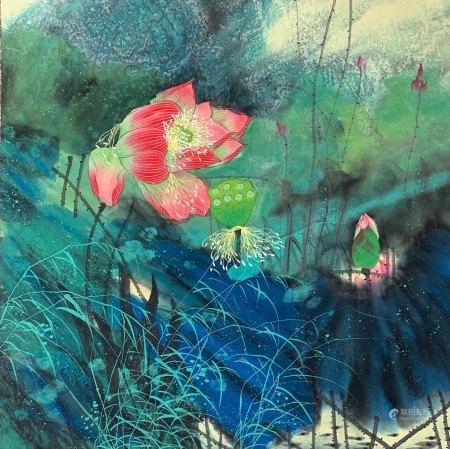 Anonymity, Lotus Flowers