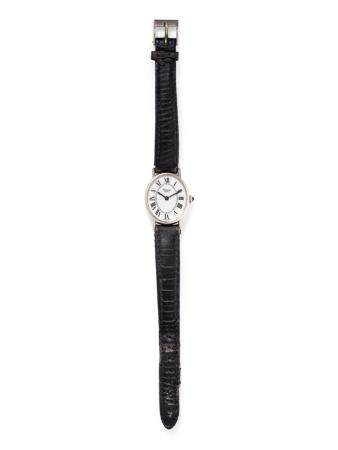 CHOPARD, 18K WHITE GOLD WRISTWATCH