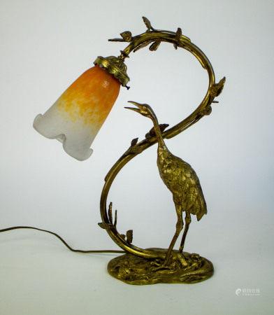 Art Nouveau lampadaire