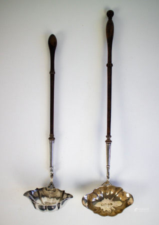 Silver Empire punch spoons