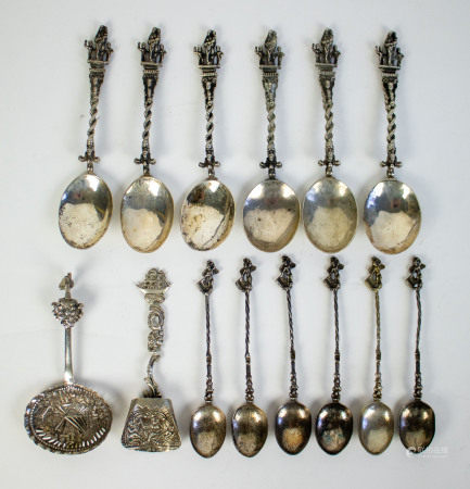 Apostle spoons silver