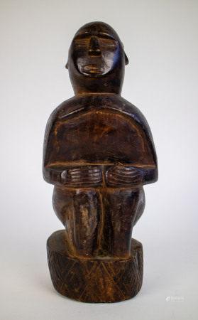 Wooden sculpture Timor 20thC
