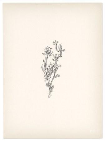 "Paul Klee original lithograph ""Giant Aphid"" (Riesenblattlaus)"