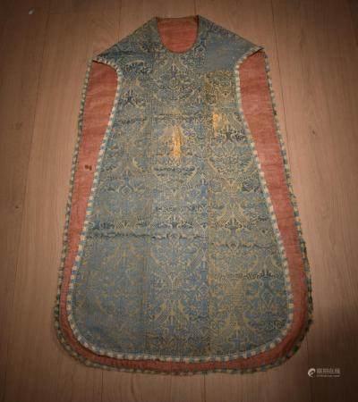 Italian Silk Priest Chasuble Robe