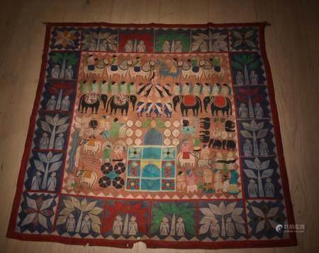 Indian Rajasthan Patchwork Hanging (Jaisalmer)
