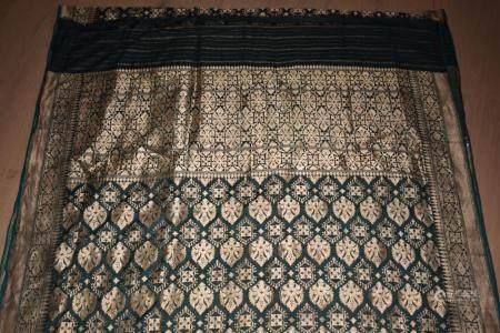 Indian Metal Thread Sari