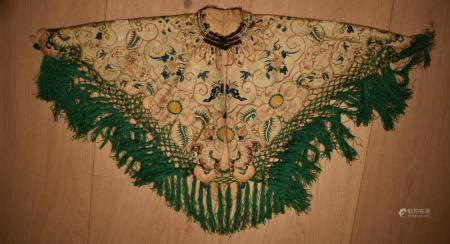 Chinese Silk Embroidered Collar