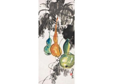 劉海粟  葫蘆