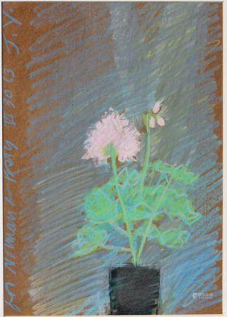 Jack YOUNGERMAN (1926-2020) Pastel on board