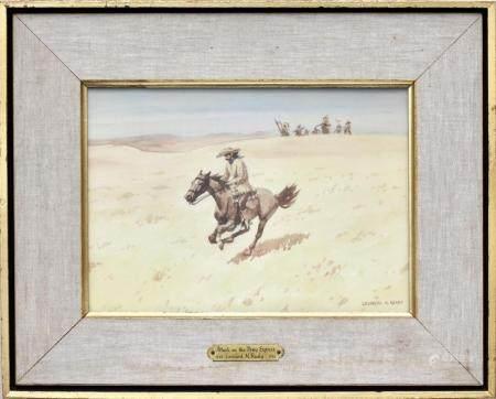 Leonard Howard REEDY (1899-1956) Watercolour/paper
